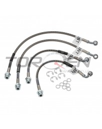 350z DE Russell Street Legal Brake Line Kit, 4 Piece - with Standard Brakes