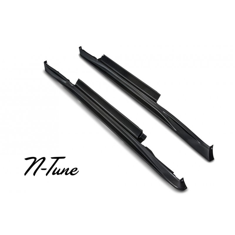 R35 GT-R N-Tune Side Skirt, Carbon Fiber - TORQEN