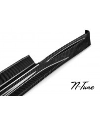 Nissan GT-R R35 N-Tune Side Skirt, Carbon Fiber