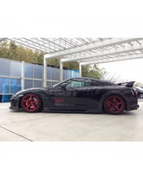 Nissan GT-R R35 Tommy Kaira Side Step, Carbon with FRP