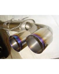 Nissan GT-R R35 Greddy Dual Racing Titanium Exhaust