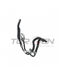 350z Nissan OEM Power Steering Return Hose, Tube, & Bracket Complete Set
