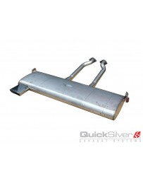 QuickSilver Exhausts BMW Z1 Stainless Steel Exhaust (1987-91) OEM Design (Single Tip)