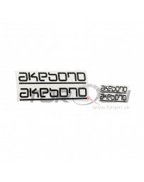 R34 Akebono High Temperature Brake Caliper Sticker / Decal Set