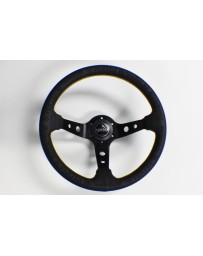 "350z Vertex ""King"" 330mm Steering Wheel Black"