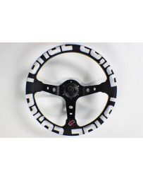 350z VERTEX T&E STEERING WHEEL WHITE