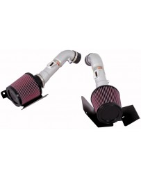 350z HR K&N 69 Series Typhoon Dual Air Intake System