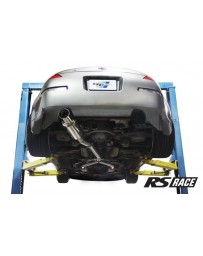 "350z Greddy GPP RS-Race Single Exit Cat-Back Exhaust System, 4.5"" Tip"