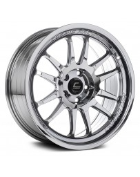 "COSMIS RACING - XT-206R Black Chrome (18"" x 9.5"", +10 Offset, 5x114.3 Bolt Pattern, 73.1mm Hub)"
