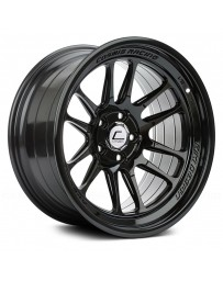 "COSMIS RACING - XT-206R Black (18"" x 11"", +8 Offset, 5x114.3 Bolt Pattern, 73.1mm Hub)"