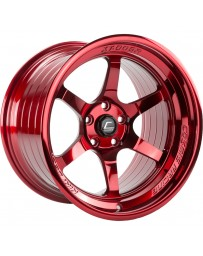 "COSMIS RACING - XT-006R Hyper Red (18"" x 9.5"", +10 Offset, 5x114.3 Bolt Pattern, 73.1mm Hub)"