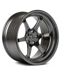 "COSMIS RACING - XT-006R Black with Machined Spokes (18"" x 9.5"", +10 Offset, 5x114.3 Bolt Pattern, 73.1mm Hub)"