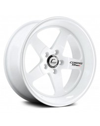 "COSMIS RACING - XT-005R White (18"" x 9"", +25 Offset, 5x100 Bolt Pattern, 73.1mm Hub)"
