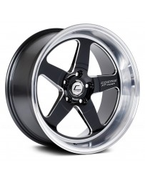 "COSMIS RACING - XT-005R Black with Machined Lip (18"" x 10"", +20 Offset, 5x114.3 Bolt Pattern, 73.1mm Hub)"