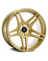 "COSMIS RACING - S5R Gold (18"" x 9"", +26 Offset, 5x114.3 Bolt Pattern, 73.1mm Hub)"