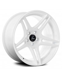 "COSMIS RACING - S5R White (17"" x 10"", +22 Offset, 5x114.3 Bolt Pattern, 73.1mm Hub)"