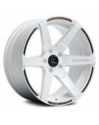 "COSMIS RACING - S1 White with Milled Spokes (18"" x 9.5"", +15 Offset, 5x114.3 Bolt Pattern, 73.1mm Hub)"