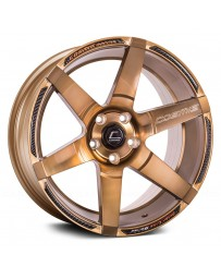 "COSMIS RACING - S1 Hyper Bronze (18"" x 9.5"", +15 Offset, 5x114.3 Bolt Pattern, 73.1mm Hub)"