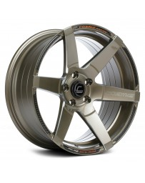 "COSMIS RACING - S1 Bronze with Milled Spokes (18"" x 9.5"", +15 Offset, 5x114.3 Bolt Pattern, 73.1mm Hub)"