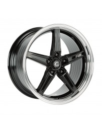 COSMIS RACING - Cosmis Racing R5 18x9.5 +12mm 5x114.3 COLOR: Black with Machined Lip