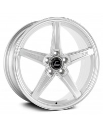 "COSMIS RACING - R5 Silver (18"" x 8.5"", +40 Offset, 5x108 Bolt Pattern, 63.4mm Hub)"