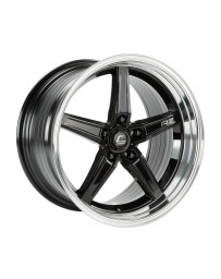 COSMIS RACING - R5 18x10.5 +22mm 5x120 COLOR: Black with Machined Lip