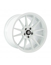 COSMIS RACING - R1 PRO 18x12 +24mm 5x114.3 COLOR: White