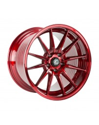 COSMIS RACING - R1 PRO 18x12 +24mm 5x114.3 COLOR: Hyper Red