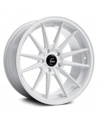 "COSMIS RACING - R1 White (18"" x 9.5"", +35 Offset, 5x100 Bolt Pattern, 73.1mm Hub)"