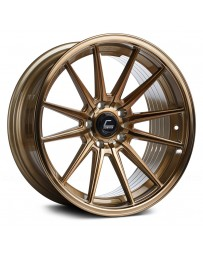 "COSMIS RACING - R1 Hyper Bronze (18"" x 8.5"", +35 Offset, 5x120.65 Bolt Pattern, 74.1mm Hub)"