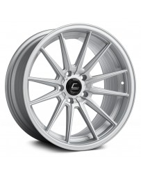 "COSMIS RACING - R1 Matte Silver (18"" x 8.5"", +35 Offset, 5x112 Bolt Pattern, 66.5mm Hub)"