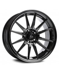 "COSMIS RACING - R1 Black Chrome (18"" x 8.5"", +35 Offset, 5x112 Bolt Pattern, 66.5mm Hub)"