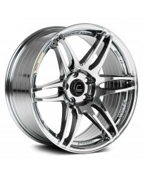 "COSMIS RACING - MRII Black Chrome (18"" x 8.5"", +22 Offset, 5x114.3 Bolt Pattern, 73.1mm Hub)"
