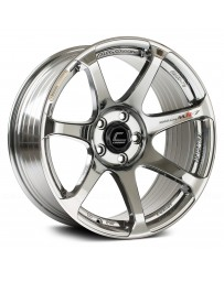 "COSMIS RACING - MR7 Black Chrome (18"" x 9"", +25 Offset, 5x114.3 Bolt Pattern, 73.1mm Hub)"