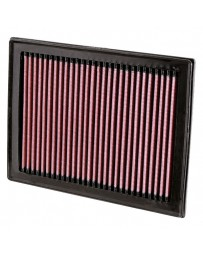 "Nissan Juke Nismo RS 2014+ K&N 33 Series Panel Red Air Filter (8.813"" L x 6.625"" W x 1"" H)"