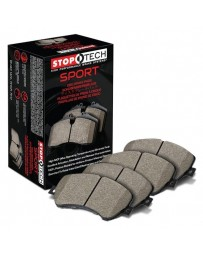 Nissan Juke Nismo RS 2014+ StopTech Sport Performance Rear Brake Pads with Shims and Hardware