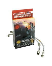 Nissan Juke Nismo RS 2014+ Goodridge G-Stop Stainless Steel Brake Line Kit (AWD)