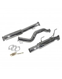 Nissan Juke Nismo RS 2014+ Injen Stainless Steel Cat-Back Exhaust System with Single Rear Exit