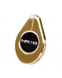 NRG Radiator Cap Cover - Chrome Gold Dip