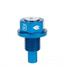 NRG Magnetic Oil Drain Plug M12X1.25 Infiniti/Lexus/Nissan/Toyota - Blue