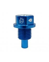 NRG Magnetic Oil Drain Plug M14X1.5 Acura/Honda/Mazda/Mitsubishi - Blu