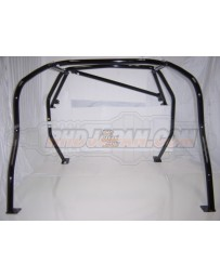 Nissan S14 Cusco Safety 21 Roll Cage 7 Point 2 Seats Around Dash - Black