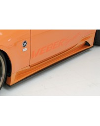 350z WeberSports Zenith Line Side Under Panel (Carbon)