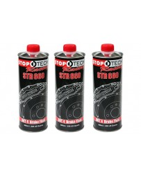 350z StopTech STR-600 High Performance Street Brake Fluid - Pack of 3