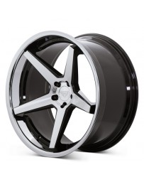 Ferrada FR3 Machine Black Chrome Lip 22x9.5 Bolt : 5x4.75 Offset : +15 Hub Size : 74.1 Backspace : 5.84