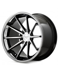 Ferrada FR4 Machine Black Chrome Lip 20x9 Bolt : 5x112 Offset : +35 Hub Size : 66.6 Backspace : 6.38