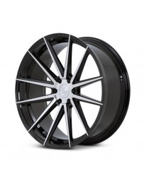 Ferrada FT1 Machine Black 22x9.5 Bolt : 6x5.5 Offset : +30 Hub Size : 78.1 Backspace : 6.43