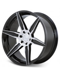 Ferrada FT2 Machine Black 24x10 Bolt : 6x5.5 Offset : +30 Hub Size : 78.1 Backspace : 6.68