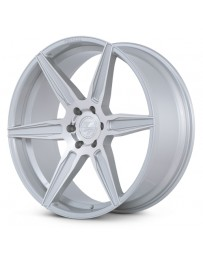 Ferrada FT2 Machine Silver 24x10 Bolt : 6x135 Offset : +30 Hub Size : 87.1 Backspace : 6.68