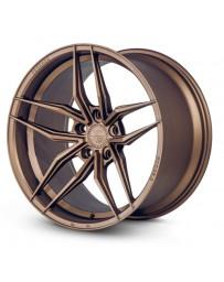 Ferrada F8-FR5 Matte Bronze 20x9 Bolt : 5x112 Offset : +27 Hub Size : 66.6 Backspace : 6.06